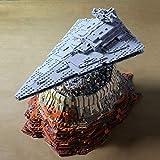 KOAEY Raumschiff Bausteine The Empire Over Jedha City, 5162 Teile Sternenzerstörer Modell Mould King 21007 Star Wars Super Star Zerstörer Kompatibel mit Lego