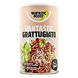 Vantastic foods VANTASTIC GRATTUGIATO, 60g | Veganer Parmesan-Ersatz | Streukäse-Alternative Vegan | Ideal für Pastagerichte | Veganer Käseersatz