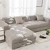 Sofabezug Sofaüberwurf Sesselschoner Sofaschoner Sesselschutz 1/2/3/4 Sitzer,A,190~230cm