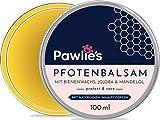 Pawlie's Pfotenbalsam Hund mit Bienenwachs & Bio Jojobaöl   Pfotenschutz Hund, Pfotenpflege Hund, Pfotencreme, Pfotensalbe für Hunde, Paw Balm, Wrinkle Balm   Perfekter Schutz für Hunde &