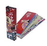 Lesezeichen aus Papier, Vintage-Stil, japanischer Stil, für Schule, Studenten, 30 Stück/Tasche