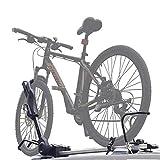JINGBO Dach-Fahrradträger für 1 Fahrräder, Nutzlast 50KG, Zusammenklappbar für Auto SUV LKW