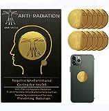 Strahlenschutz Handy Aufkleber, Strahlung Abschirmung, Elektrosmog Neutralisierer für WLAN, Laptop, Handy