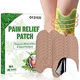 Schmerzlinderung Patch, Pain Relief Patch, Wärmepflaster, Wermut Kniegelenk Patch, Schnelle Linderung Knieverletzung, Moxibustion Knie Aufkleber für Rücken Schulter Nacken Bauch - 24PCS