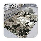 Carpet Living Room Bedroom groß, bedruckt, für Sofa, Café, Tisch, Floor, modern, einfach, maschinenwaschbar, 7 – 40 x 60 cm