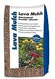 Hamann Lava-Mulch Rot 16-32 mm 20 l - Dauerhaft dekorativ - Boden bleibt frisch und Wird vor Austrocknung geschützt