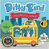 DITTY BIRD Children's Songs Soundbuch - Englishsprachige Musikbuchreihe fur Babys mit Interactiv Lieder