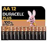Duracell NEU Plus AA Mignon Alkaline Batterien, 1.5V LR6 MN1500, 12er-Pack