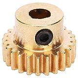 SALUTUYA 24-Zähne-Kettenrad aus Messing für Ersatzteile für Industrieroboter Ersatzteile für Industrieroboter