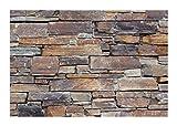 1 Muster W-006 Schiefer Wandverkleidung Naturstein Wandverblender Steinwand Mauerverkleidung Natural Stone Wall Cladding - Fliesen Lager Verkauf Stein-Mosaik Herne NRW