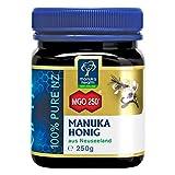 Manuka Health - Manuka Honig MGO 250+ (250 g) - 100% Pur aus Neuseeland mit zertifiziertem Methylglyoxal Gehalt