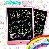 TEKFUN 10 Zoll LCD-Grafik-Tablet, magnetisch, bunt, für Graffiti, abwischbar, Geschenke, Moleskine Smart Writing Set, Kinderspielzeug, Kinderspielzeug (rosa)