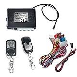 JOM Car Parts & Car Hifi GmbH 7105-1 Keyless Open, Funkfernbedienung für vorhandene Original-Zentralverriegelung, universal, mit 2 Mini-Funksender Edelstahl