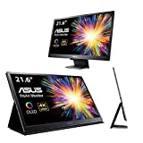 ASUS PQ22UC 54,86cm (21,6 Zoll) Professional OLED Monitor (4K, HDR, 0,1ms Reaktionszeit, abnehmbarer Standfuß) grau
