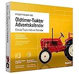 FRANZIS Porsche Traktor Adventskalender 2020   In 24 Schritten zum Oldtimer-Traktor unterm Weihnachtsbaum   Ab 14 Jahren