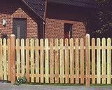 Lattenzaun Lärche 180x120 Zaun Holz Holzzaun Gartenzaun Friesenzaun