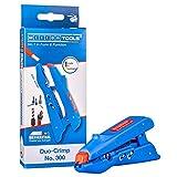 WEICON TOOLS Duo-Crimp No. 300 | Multifunktions-Abisolierer mit Seitenschneider und Crimpfunktion