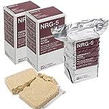 Tactical OPS NRG-5 (2 Stück) Notnahrung | Packung mit 2 x NRG-5 Emergency Food Ration (Long Shelf Life 20 Jahre) | Enthält zwei Packungen à 500 g je 1 kg