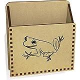 Azeeda 'Frosch' Hölzern Brief Halter / Box (LH00049016)