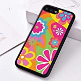 WGOUT Silikon-Handyhülle für iPhone 6 6S 7 8 Plus 5 5S SE X XS XR 11 PRO MAX Flower Power, für iPhone 5S