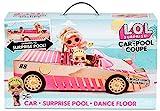 L.O.L. Surprise! 565222E7C Car-Pool-Coupé mit Exklusiver Puppe, Überraschungs-Pool, Tanzfläche & Mehr