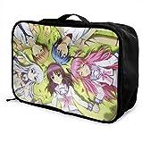 Angel Beats! Reisetasche, wasserdicht, modisch, leicht, große Kapazität, tragbar