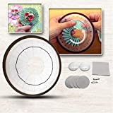 Rosetten-Teile-Set, große Rosetten-Malerei, mehrfarbig, Näh-Werkzeug, Hobby-Kunst, für die Herstellung von Rosetten-Blumen