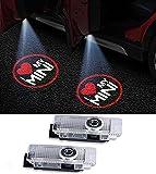 Duleutgnu 2 Stück LED Autotür Türbeleuchtung Logo KFZ Türen Einstiegsbeleuchtung Projektor Willkommen Door Projektion Einstiegslicht Türlicht Logo Courtesy Lampe