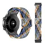 22mm Armband für Xiaomi Haylou RT LS05S /OnePlus Watch, Nylon Ersatzband Silikonband,Uhrenarmband Armbänder für Yamay Sw022 /Imilab Kw66 /Ticwatch GTX/CXB01/Polar Grit X / Vantage M/M2 (Farbe)