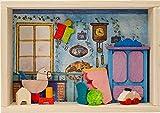 Graupner Holzminiaturen | Glückwunsch Kästchen 'Nachwuchs' aus Holz | Original Erzgebirgische Holzkunst® | Hochwertige Handarbeit | besondere Geschenkidee zur Geburt | Verpackung für Geldgeschenk