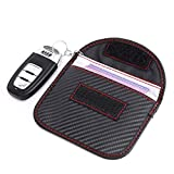 sunyu Autoschlüssel Schutz Keyless Hülle RFID Funkschlüssel Abschirmung Schlüsseltasche Schlüsseletui Schlüsselmäppchen Car Key Safe