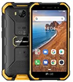 Ulefone Armor X Outdoor Smartphone ohne Vertrag Günstig, IP68 Robustes Handy, Android 9.0, 4000mAh Akku, Quad-Core 2GB + 16GB, 5 Zoll HD, 5 MP + 8 MP, DUAL SIM GPS Gesichts Entsperrung Orange
