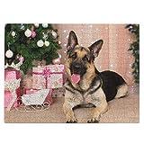Deutscher Schäferhund, Geschenke, Neujahr, 520 Teile, Bildpuzzle, lustig, kreative Geschenke für Kinder und Erwachsene zum Geburtstag, W