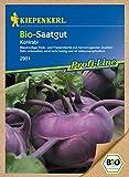 Saatgut Bio-Kohlrabi, b