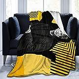 HIPPOY Neil Gaiman warme und weiche Überwurf, Microdecke, Plüsch, Bett, Couch Decke