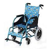 XUSHEN-HU Medizin und Rehabilitation Stuhl, Rollstuhl, Kinderrollstühle 17Kg Transport Medical Ergonomische Erweiterte Bequeme Armlehne Backs Beine 80Kg Load Bearing 36 * 40cm Sitzbreite Leicht