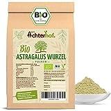 Astragalus Wurzel Pulver Bio | 500g | Tragant-Wurzel-Pulver | 100% naturrein ohne Zusätze | Tragacantha Membranaceus Wurzelpulver |