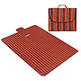 WYH komfortabel Picknick-Matte Strandmatte Folding Strandmatte Zelt-Matten Oxford Cloth bewegliche wasserdichte Sanft (Color : E)