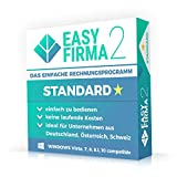 EasyFirma 2 Standard - Rechnungsprogramm für Kleinunternehmer und Handwerker. Rechnungen, Angebote, Kunden- und Artikelverwaltung,