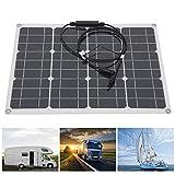 Dual-USB-Port-Lade-Solarpanel Monokristallines Solarpanel für Auto/LKW/Wohnwagen/Boote mit starker Praktikabilität