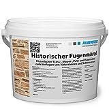 Ruberstein® Historischer Fugenmörtel natur im 2 kg E