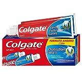 Colgate Zahnpasta mit Aktivfluor und flüssigem Kalzium, Minzgeschmack, 2 Stück x 75 ml