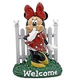 The Galway Company Disney Minnie Maus Willkommensschild Zaun Garten Statue