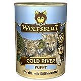 Wolfsblut - Cold River Puppy - 6 x 395 g - Forelle - Nassfutter - Hundefutter - Getreidefrei