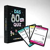 Wisst Ihr Noch? Das 80er Jahre Quiz als Kartenspiel mit 200 Fragen in 4 Kategorien. Ratespaß für Spieleabende, Kneipenquiz, Gesellschaftssp