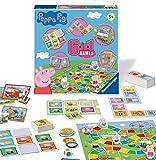 Ravensburger Peppa Pig 6-in-1 Spielkompendium für Kinder und Familien ab 3 Jahren – Bingo, Dominosteine, Schlangen und Leitern, Schachspiele, Spielkarten und Erinnerungsspiel