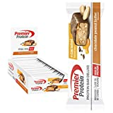 Premier Protein Bar Deluxe Chocolate Peanut Butter 18x50g - High Protein Low Sugar + Kohlenhydratreduziert