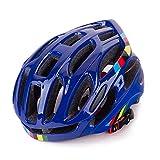 ASDFY Helm Fahrrad Erwachsener Komfortabler atmungsaktiver Straßenberghelm Einteiliger Fahrradhelm Ultraleichter Rennradhelm