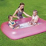 XBSXP Aufblasbarer Kinderpool Tragbares Faltbares Umweltschutz Material Sicher Und Langlebig Nimmt Keinen Platz EIN 165 * 104 * 25 cm