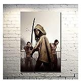 OPBGM The Walking Dead Staffel 6 TV-Serie Kunst Poster Druck Wandbild Leinwand Wandkunst für Wohnzimmer Dekor -20X28 Zoll ohne Rahmen